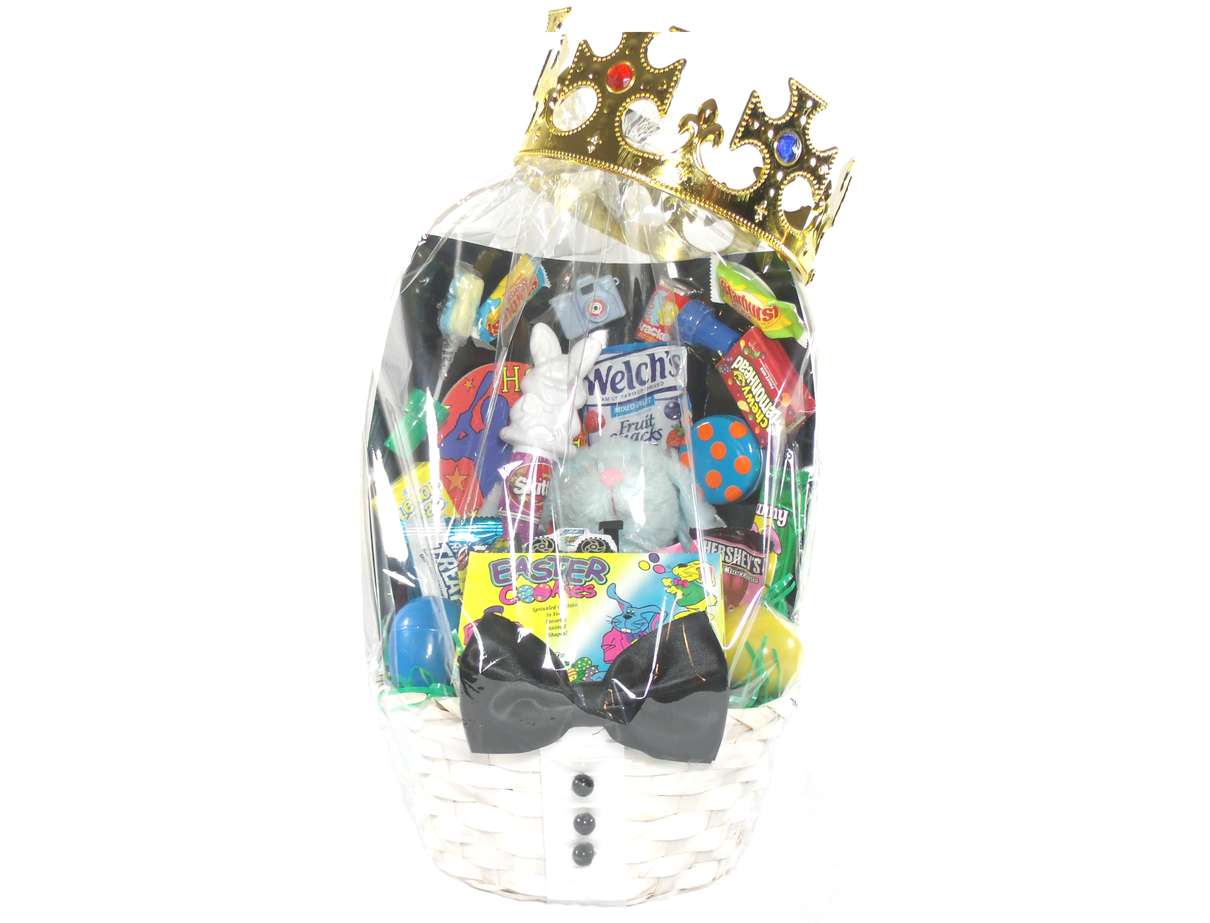 Prince Crown Easter Basket-Array of Gifts-Houston-Pearland