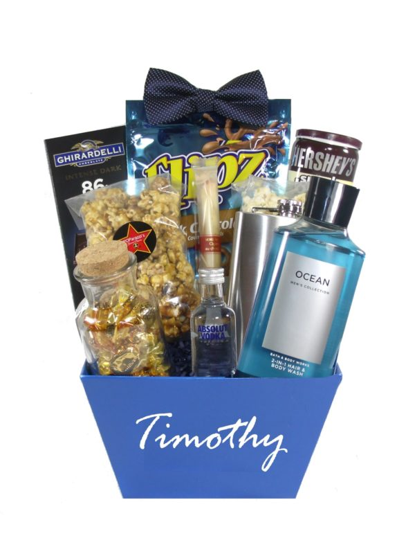 Mr. Debonair-Houston Gift Basket Delivery Just Because for Him