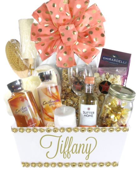 The Golden Glow(Large)-Houston Gift Baskets Delivery