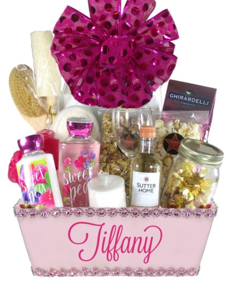 Blush Pink(Large)-Houston Pearland Gift Baskets Delivery