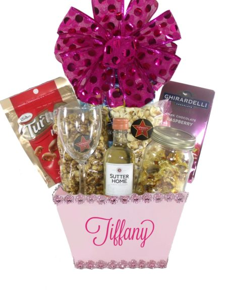Blush Pink(Small)-Houston Pearland Gift Baskets Delivery