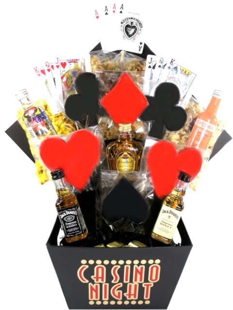 Casino Themed Houston Gift Basket-Array of Gifts