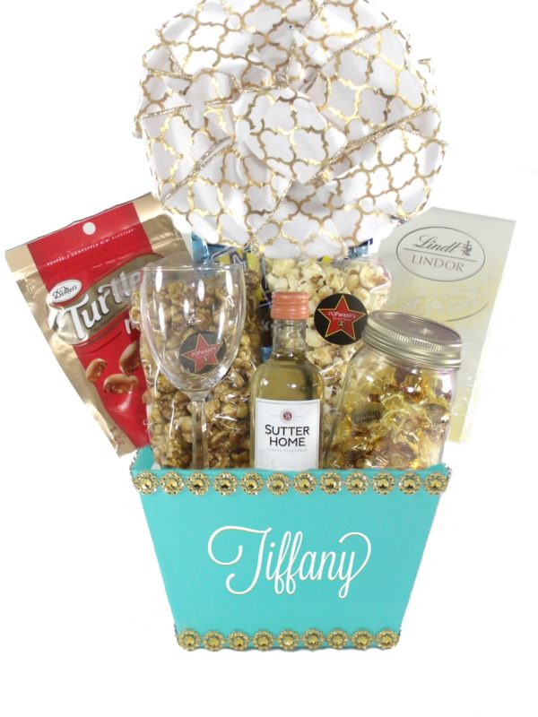 Tiffany Blue Charm(Small)-Houston Pearland Gift Baskets Delivery