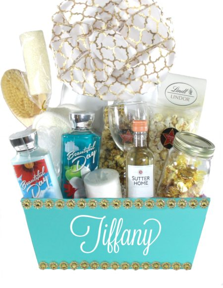 Tiffany Blue Charm(Large)-Houston Pearland Gift Baskets Delivery