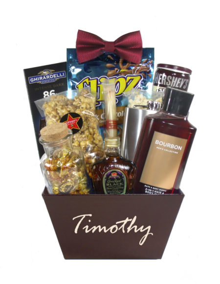 Classic Man-Houston Gift Basket Delivery Just Because for Him
