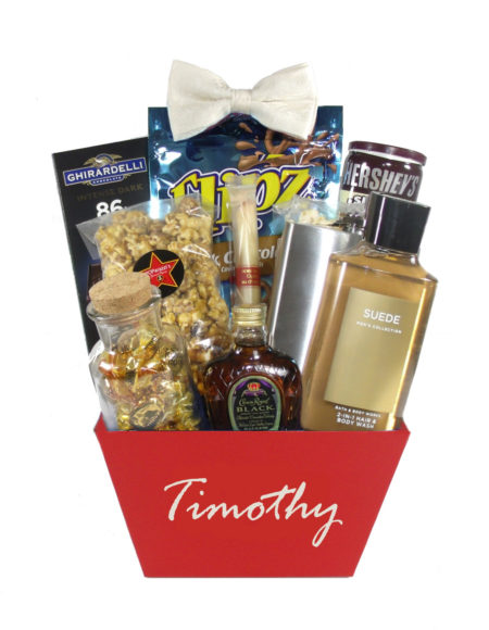 The Gentleman-Houston Gift Basket Delivery Just Because for Him