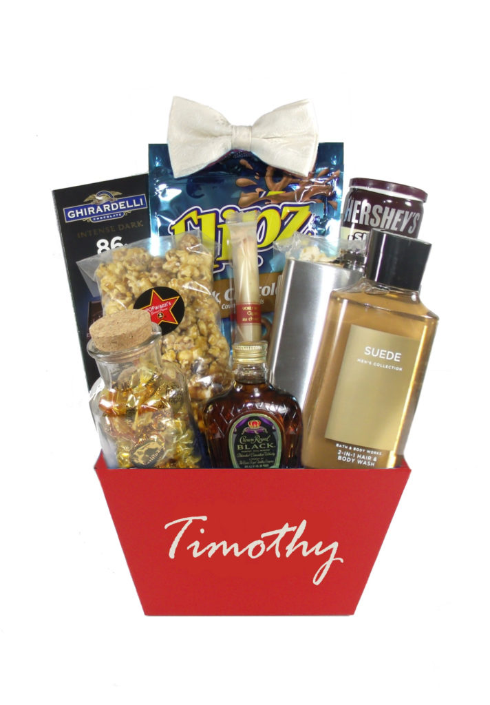 The Gentleman Houston Gift Basket Delivery Just Because For Him