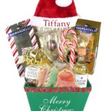 Santa's Helper Green-Array of Gifts Christmas Gift Baskets Houston Tx