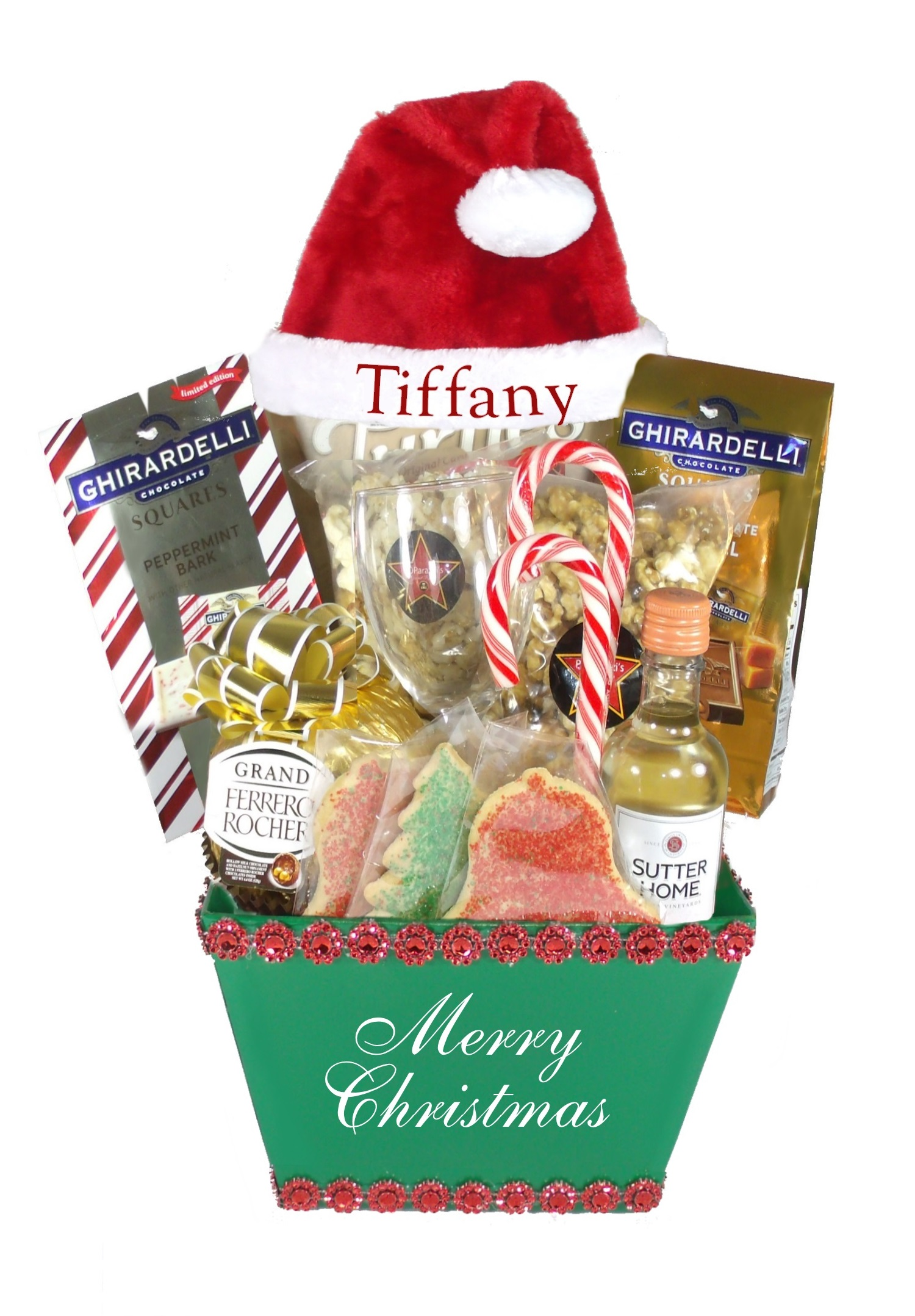 Christmas gift baskets for her product categories array of gifts santas helper green array of gifts christmas gift baskets houston tx negle Choice Image