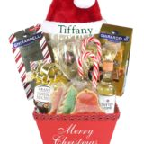 Santa's Helper Red-Array of Gifts Christmas Gift Baskets Houston Tx