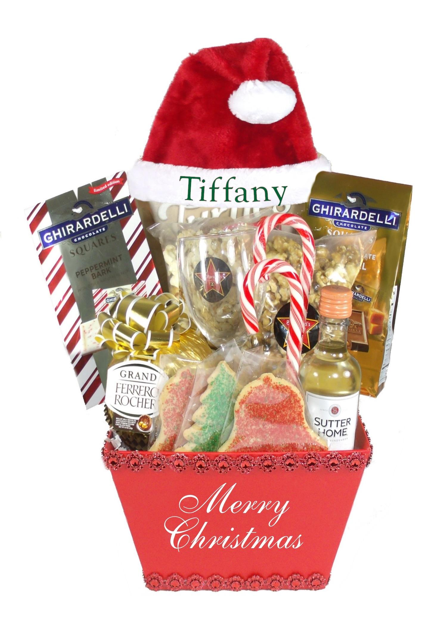 Santa\'s Helper(Red)- Houston Christmas Gift Basket