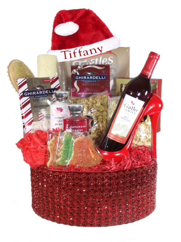 Xmas-Array of Gifts Houston Basket Christmas Gifts tx