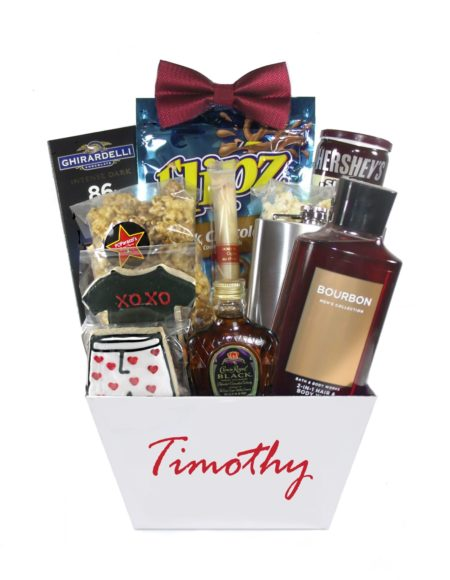 Cupid-Houston Pearland Gift Basket Delivery Valentine Day for Him