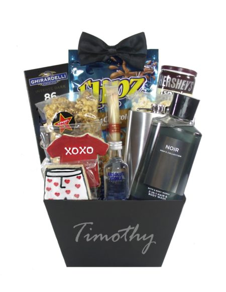 Eye Candy-Houston Gift Basket Delivery Valentine Day for Him