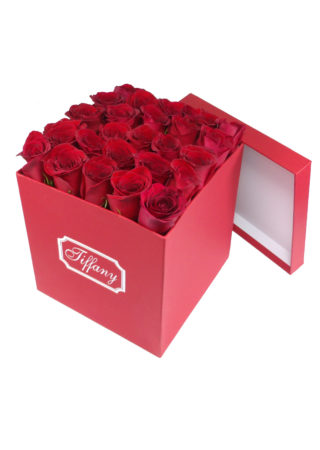 Red Box Red Roses-Array of Gifts Valentine Flower Gift Box Houston Tx