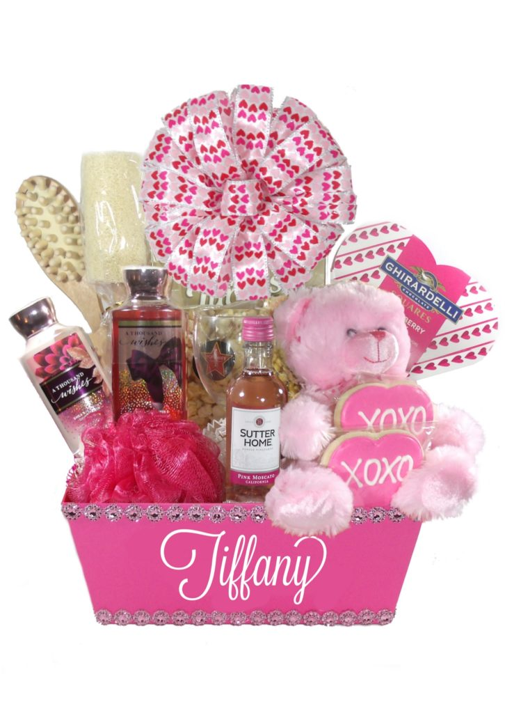 Delivery gift baskets for her gift ftempo for Valentines delivery gifts for her