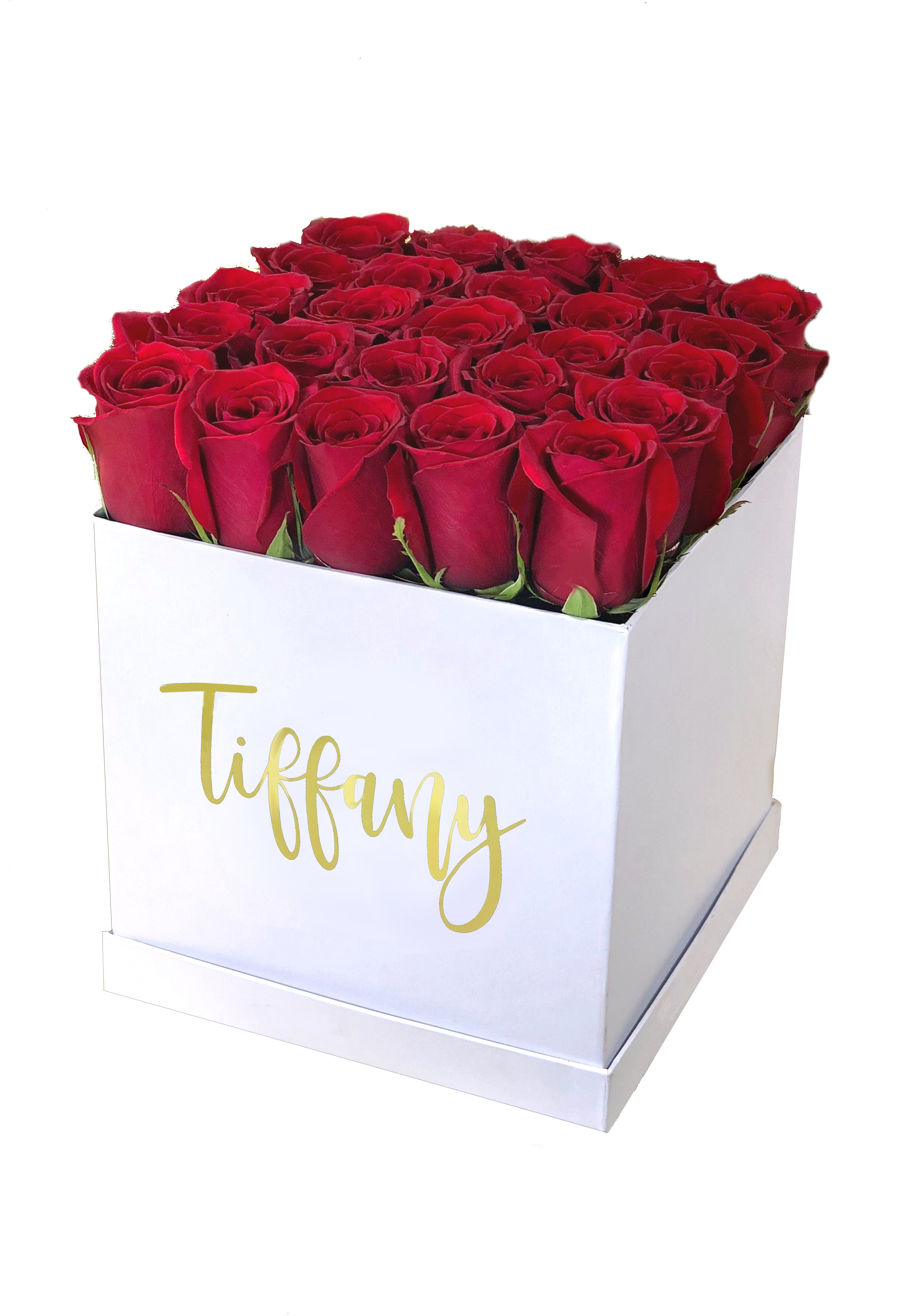 Array of Gifts Red Roses in a Flower Box Houston Delivery Tx