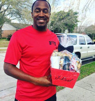 V-Day Basket for Him